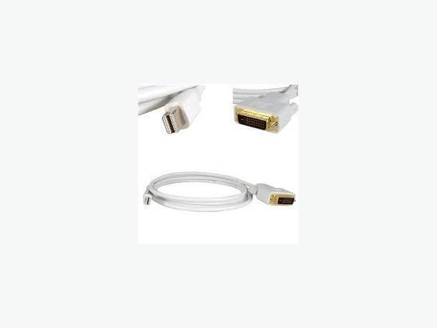 Mini DisplayPort (M) to DVI-D(M) Cable 6 feet