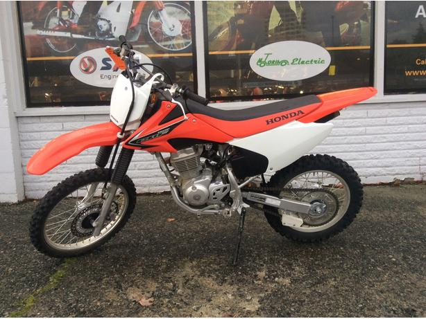 2008 Honda CRF150, low seat height, electric start, like new