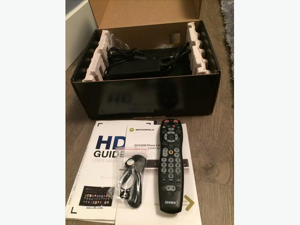 Motorola DCX3200P2-M HD cable TV Shaw HD box