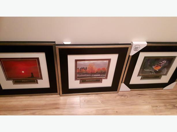 3 Limited Edition Signed Numbered Prints by artist Alicia Soave