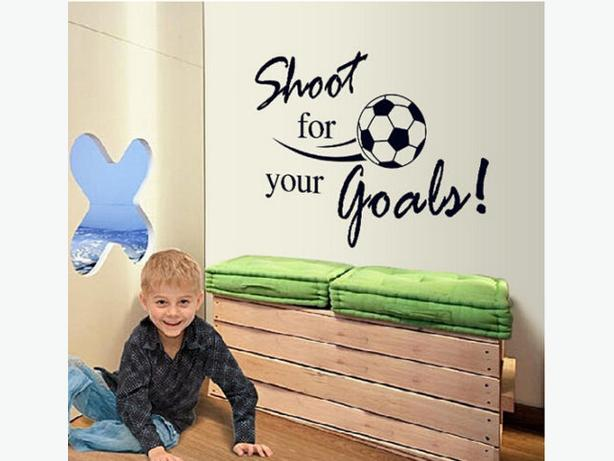 New Soccer Themed Wall Decal