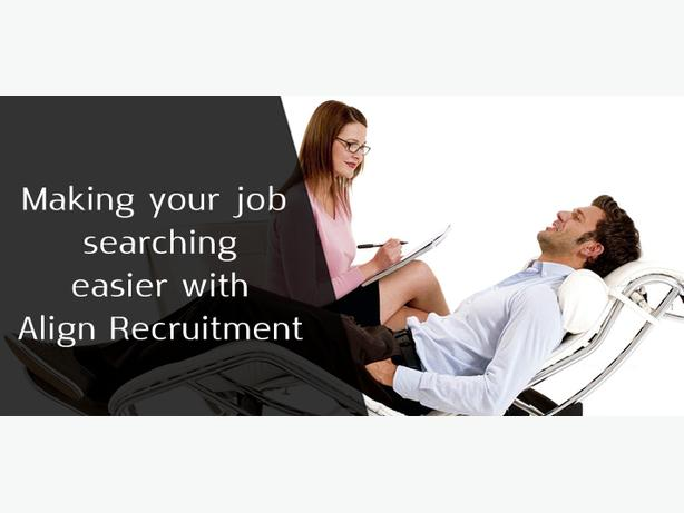 Making your job searching easier with Align Recruitment