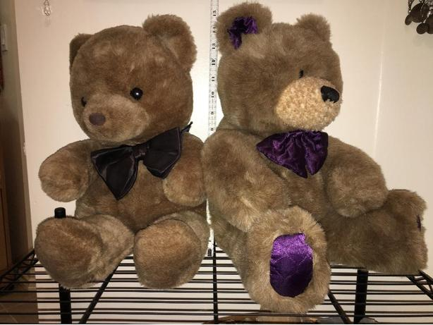 2 Teddy Bears