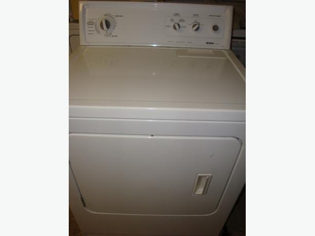 Kenmore super capacity plus dryer