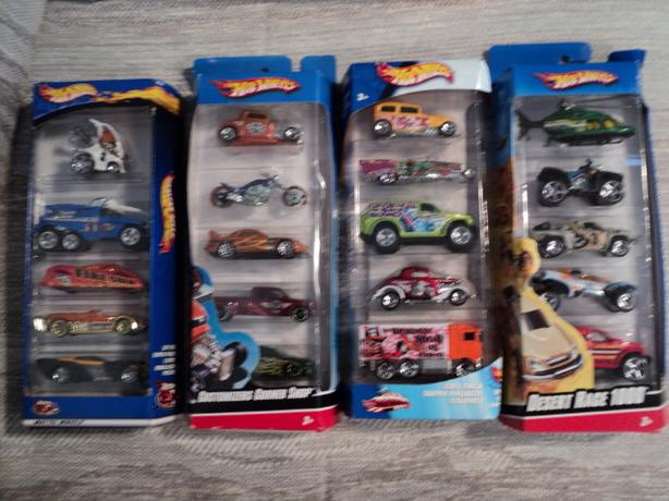 Hot Wheels 5 Car Gift Packs