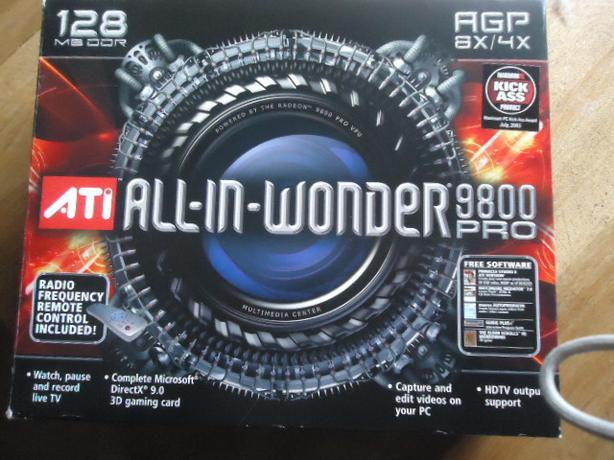 ATI All-In-Wonder 9800 Pro