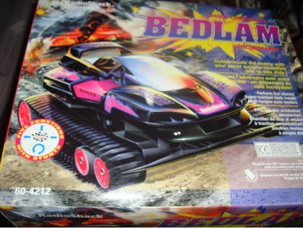Brand New Bedlam Radio Controlled Tank Car - $30