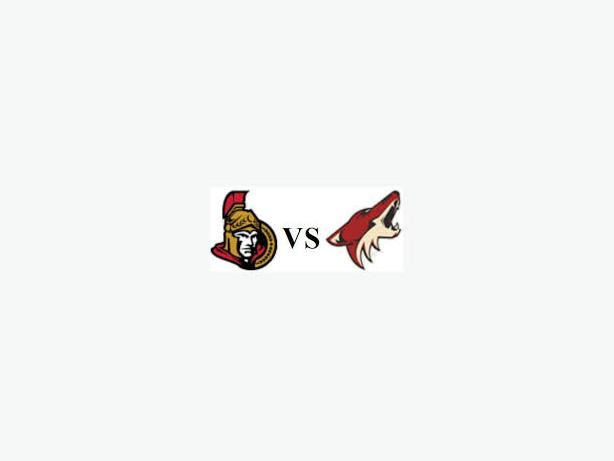 SENS V COYOTES - OCTOBER 18TH