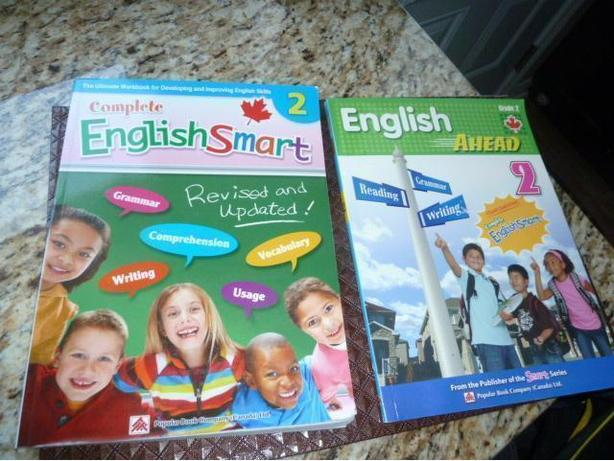 2 Books promoting English Grade 2