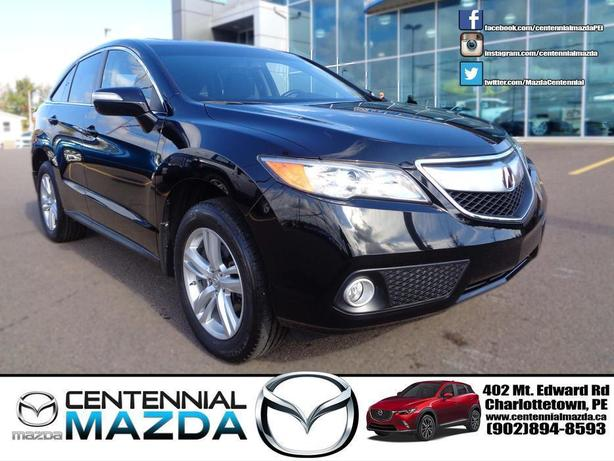 2013 ACURA RDX AWD BLACK ON BLACK REDUCED TO $24990
