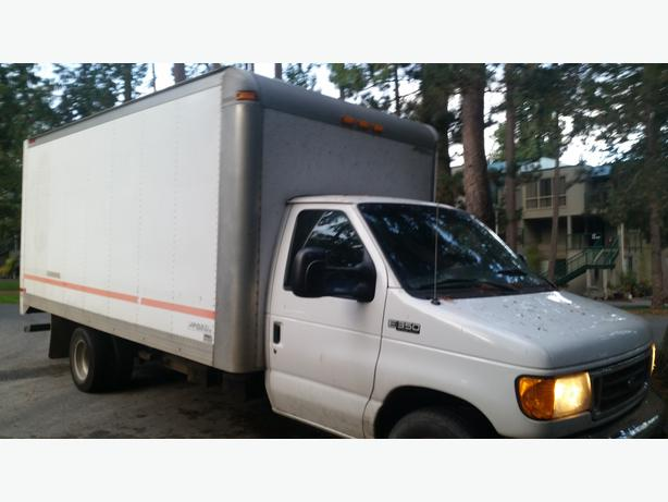 2004 Ford E350 Diesel cube van for sale