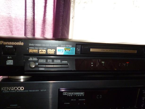 Panasonic DVD-RP56 DVD/Video CD/MP3  CD Player
