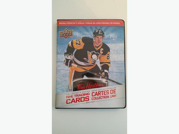 Tim Hortons Hockey Cards Full Set, incl. Limited Edition Binder