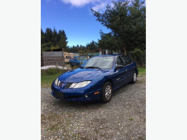 2004 pontiac sunfire in great condition low km for year