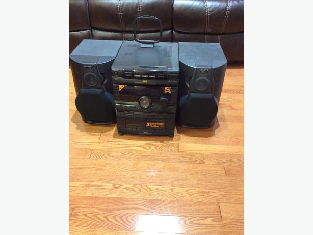SONY 3 CD changer RX 70