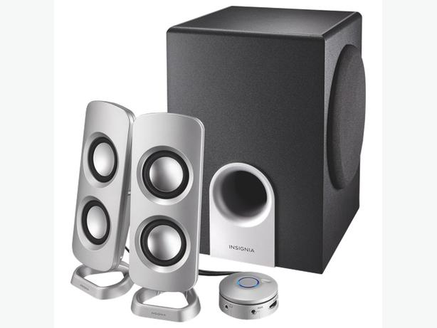 Insignia 2.1 Speaker System (NS-PSD5321-C)