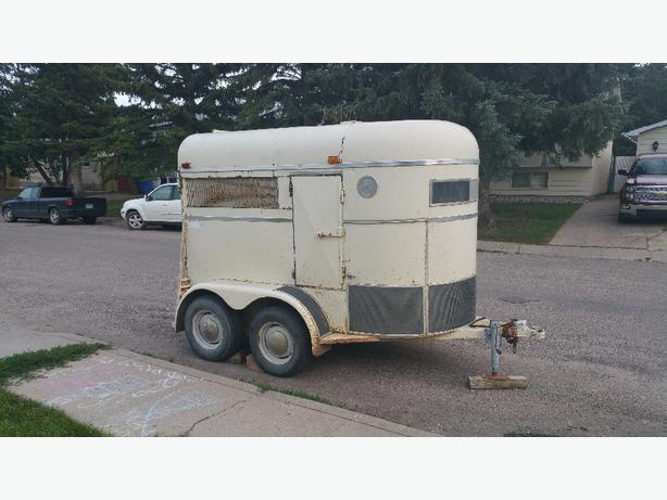 FOR TRADE: cargo/utility/horse trailer