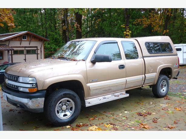 2000 Silverado 2500 4x4 with Topper, Low Km, Upgrades