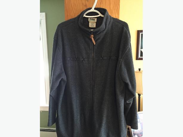 Grey fleece jacket XL