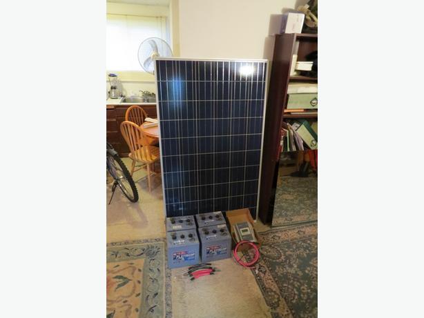 260 watt solar system