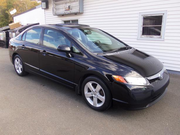 2006 HONDA CIVIC SPORT!! SUNROOF !! ONLY 138,000 KMS !!