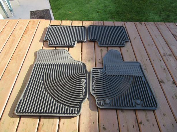 heavy duty custom floor mats 2010 2012 ford escape. Black Bedroom Furniture Sets. Home Design Ideas