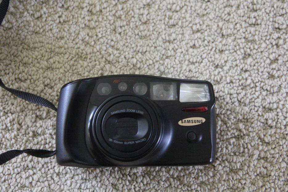 Samsung Af Zoom 1050 35mm Film Camera With 38 105mm Zoom