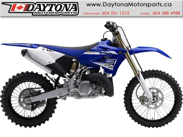 * SOLD * 2017 Yamaha YZ250X Off Road Bike  * BRAND NEW - Blue *