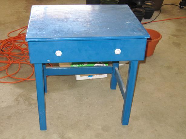 Small desk.
