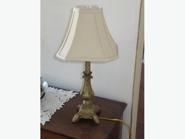 New bedside lamp.
