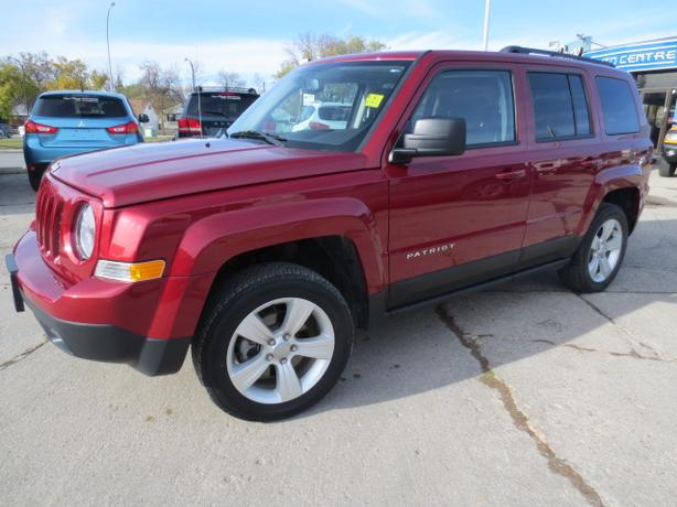 2013 JEEP PATRIOT NORTH 4X4