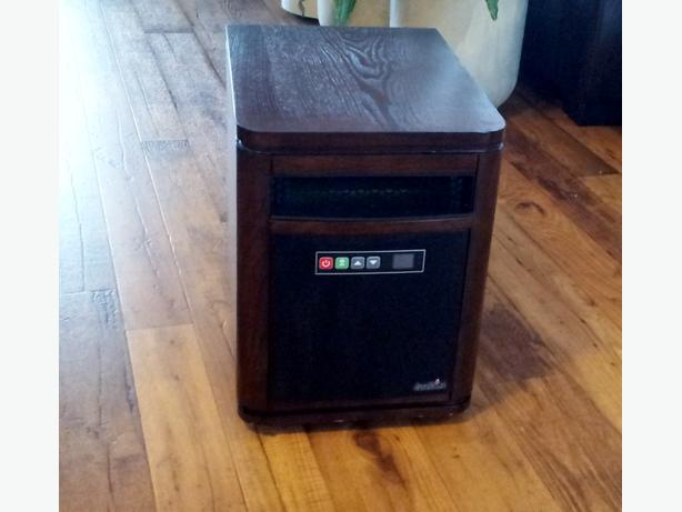 Duraflame Infrared Compact Personal Electric Space Heater with Thermostat.
