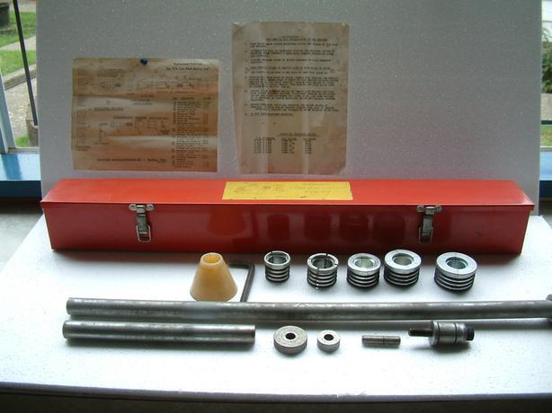 """Hastings #1478 Universal Camshaft Bearing installation Tool"