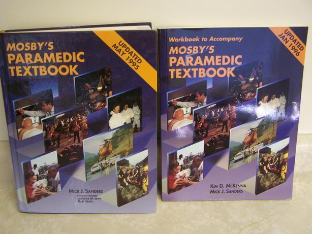 Medical Books - Paramedic/Emergency Care, etc