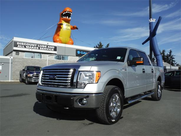 2012 Ford F-150 XLT/XTR Supercrew 5.0L V8 Short Box - 4WD