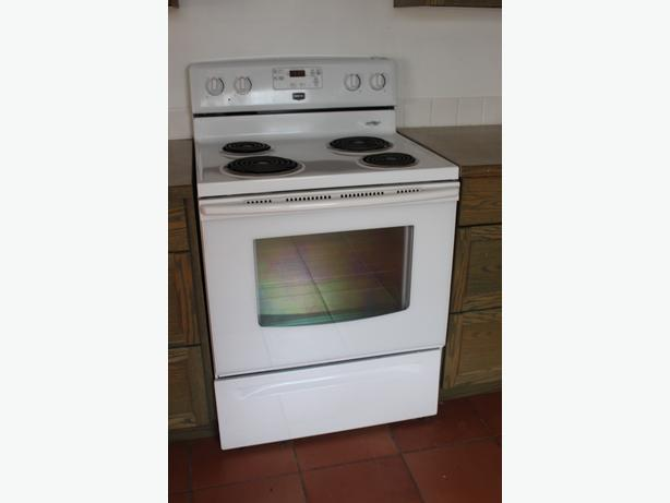 Electric Stove and Fridge for Sale