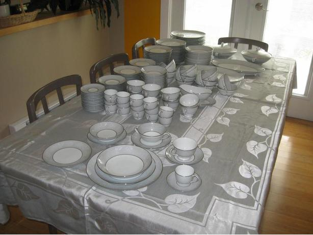 Noritake China Dinner service