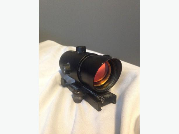 paint ball mask and  scope