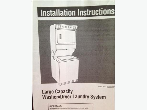 GREAT QUALITY Washer Dryer Laundry System