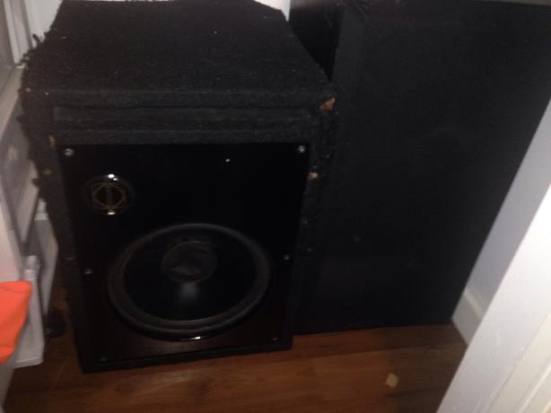 mint 12  inch sub and stereo