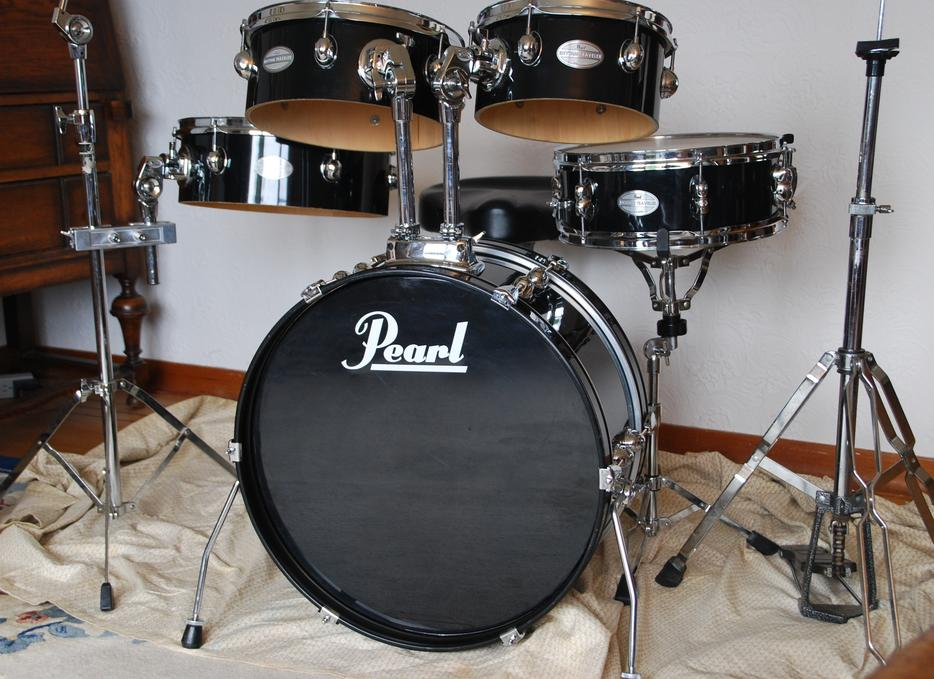 pearl rhythm traveler compact drum set outside victoria victoria. Black Bedroom Furniture Sets. Home Design Ideas