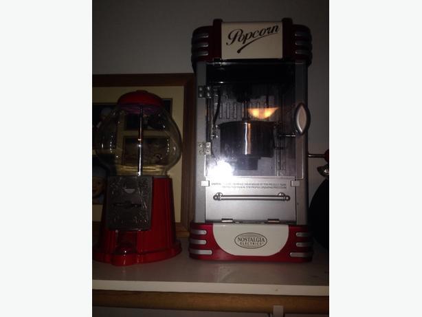 popcorn Machine &  bubblegum machine