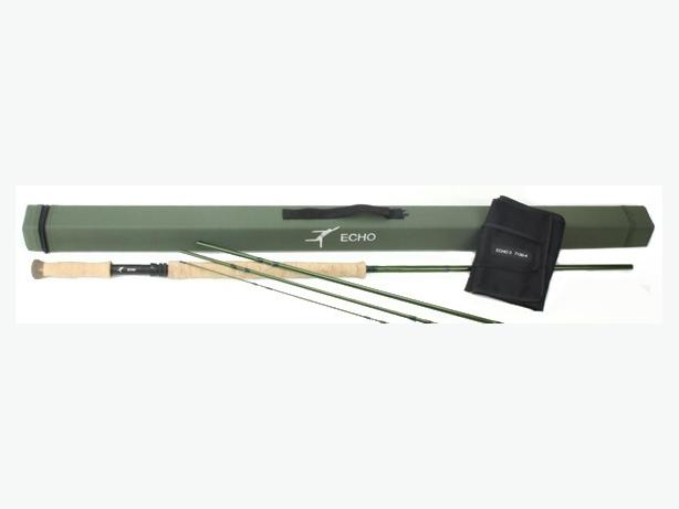 brandnew never used echo 3 7130-4x fly fishing rod