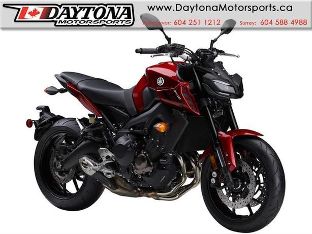 * SOLD * 2017 Yamaha FZ-09 ABS Sport Bike  * BRAND NEW -Red *