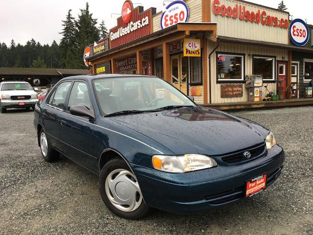 2000 Toyota Corolla - Low KM with Air Conditioning!