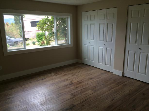 2 bedroom ground-level suite in Duncan