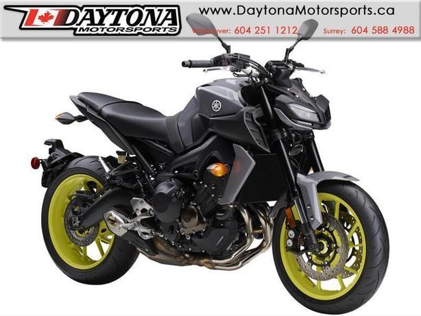 * SOLD * 2017 Yamaha FZ-09 ABS Sport Bike  * BRAND NEW -Grey *