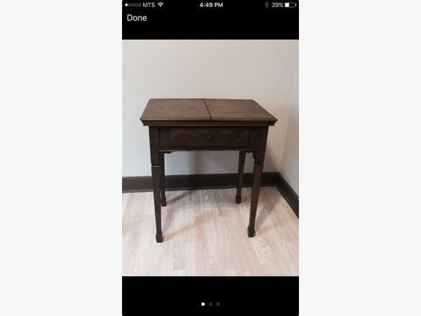 sewing table abd antique chair