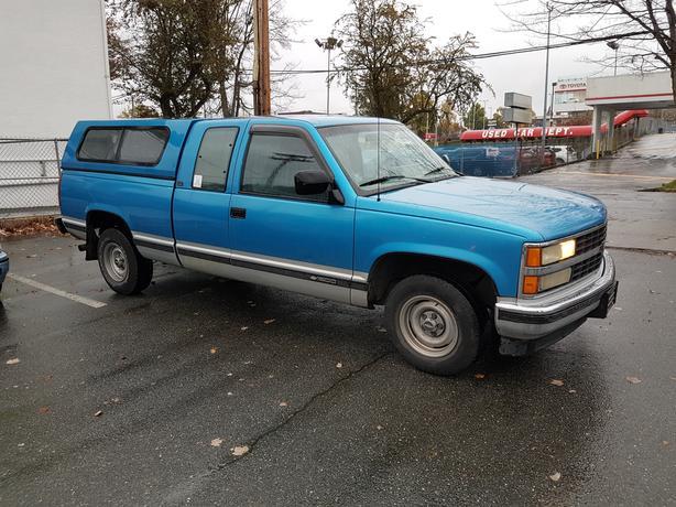1992 Chevrolet 1500 Scottsdale 2651 Sooke Rd