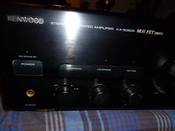 Kenwood KA-5050R Stereo Integrated Amplifier with Phono amp